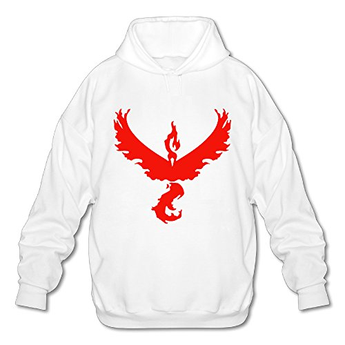 [Wesley Valor Team Men's Soft Pullover Hood White S] (Assassins Creed Unity Costume Customization)