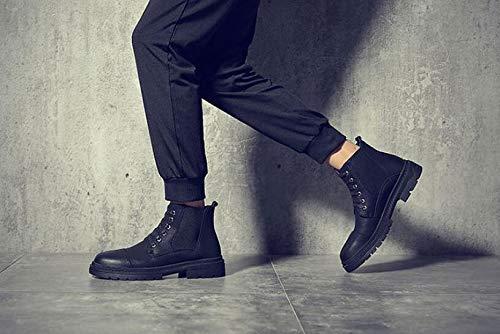 Nero Punk Nero Style Stivali 40 Nero Uomo EU xvvC0nqw4S