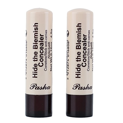 2pcs Hide The Blemish Creamy Eye Circles Concealer cover Stick Irony White