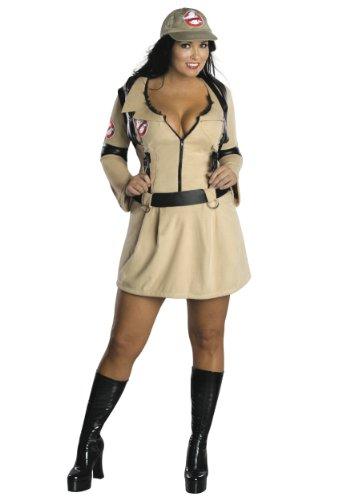 Ghostbusters Adult Costume - Plus Size (Ghostbusters Plus Size Costumes)