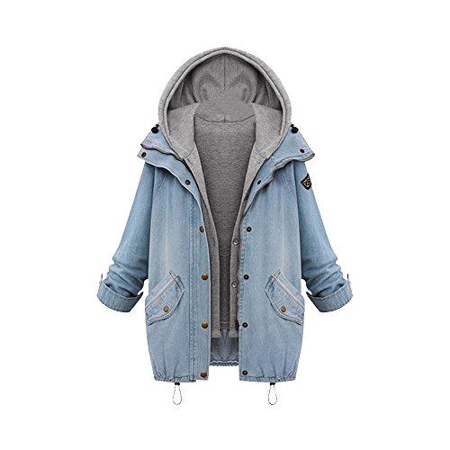 OCHENTA レディース ミドル丈 コート ジャケット カーディガン アウター グレー M L XL XXL XXXL サイズ スプリングコート タンクトップ 2セット