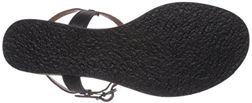 Kickers SUSHIDUE - Sandalias de vestir de cuero para mujer multicolor - Mehrfarbig (NOIR MARRON CLAIR /81)
