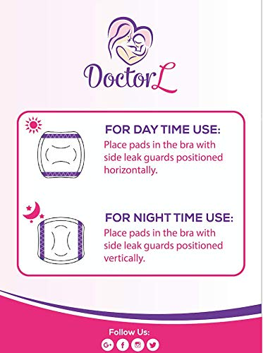 Doctor L Premium Ultrathin 3D Nursing Pads, Ultrathin Breastfeeding Pads