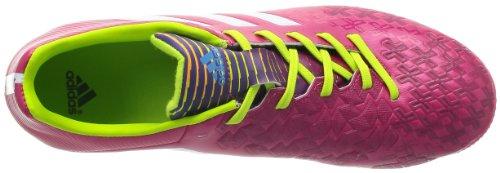 Adidas P Absolado LZ TRX AG - Botas de fútbol para hombre, color rosa / blanco / limón