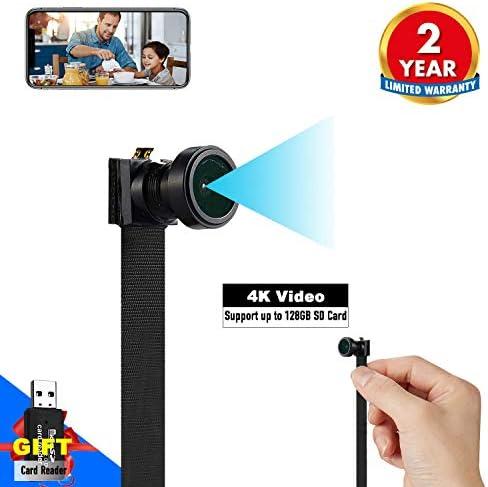 Hidden Spy Camera WiFi Mini Camera 1080P Nanny Cam Home Security Covert Camera