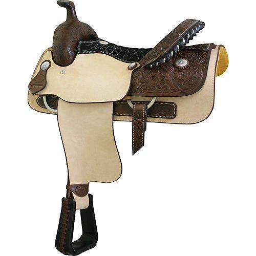 Billy Cook Saddlery Justin Roper Saddle Smooth
