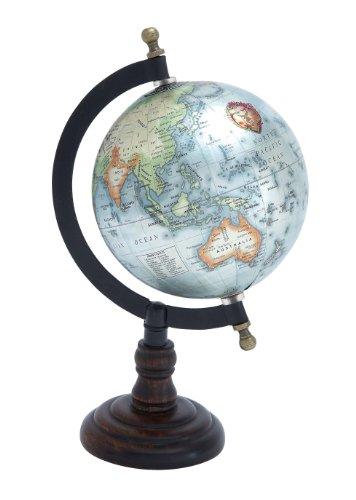 Deco 79 27939 Metal Wood Globe, 10