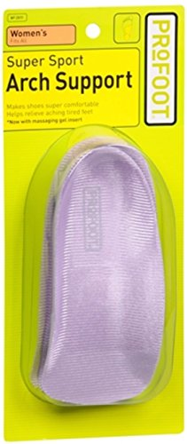 ProFoot SuperSport Arch Support Women's 1 Pair (Pack of 4)