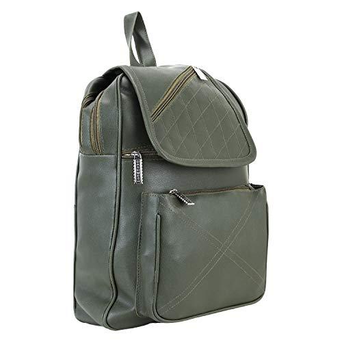 PU Leather Backpack School Bag Student Backpack Women Travel bag 6 L Backpack