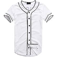 Dolpind Hip-Hop Unisex La Street Baseball Punk Rap Shirt