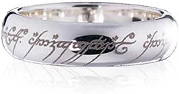 Noble Collection - Lord of the Rings Ring The One Ring (Sterling Silver) Size 09