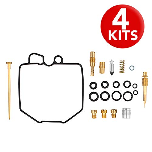 ALPHA MOTO 4X Carb Carburetor Rebuild Repair Kits Compatible with Honda CB750 CB 750 C Custom K 1980 1981