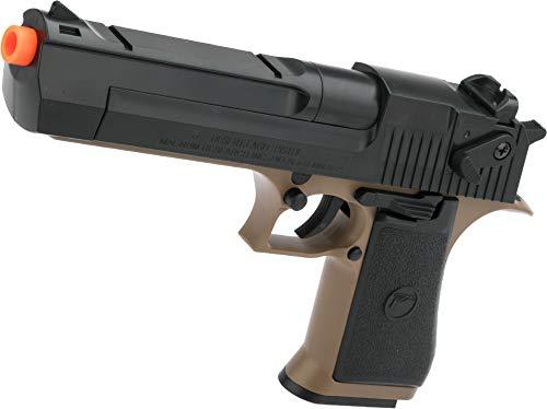 Evike Desert Eagle Licensed .50 Action Express Airsoft Full Size Pistol w/ 190rd Hi-Cap Magazine (Color: Desert)