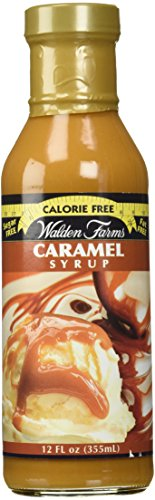 Walden Farms Caramel (2 bottles) SYRUP, Sugar Free, Calorie Free, Fat Free, Carb Free, Gluten Free (24 oz) by Walden Farms