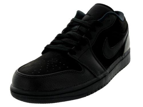 Nike Air Jordan 1 Low, Scarpe da Fitness Uomo Black/Black/Black