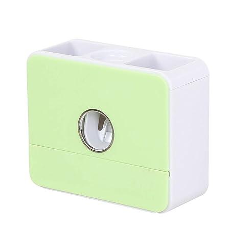 Kitrack Dispensador Automático Pasta Dientes Secado por Infrarrojos Cepillo De Dientes,Green: Amazon.es: Deportes y aire libre