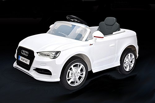 audi a3 electric ride on car double battery powered mp3 led kids vehicle with 2 4ghz remote. Black Bedroom Furniture Sets. Home Design Ideas