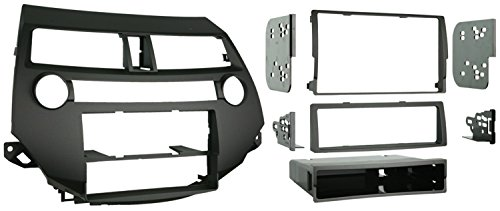 - Metra 99-7874 Single/Double DIN Installation Kit for 2008-2009 Honda Accord 08-UP  W/O DUAL A/C