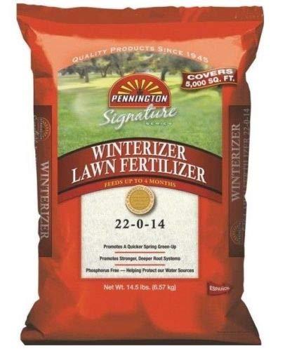 Pennington 451395 Signature Series Winterizer Lawn Fertilizer, 14.5 lbs