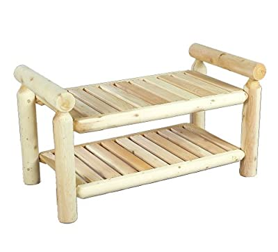 Cedarlooks 0200028 Log Quilt Bench