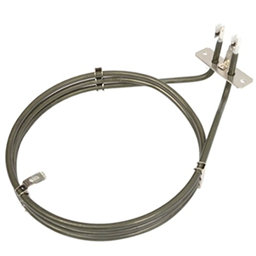 Spares2go 3 Turn Heater Element For John Lewis JLBIOS601 JLBIOS602 JLBIOS603 Fan Oven Cookers 2000W