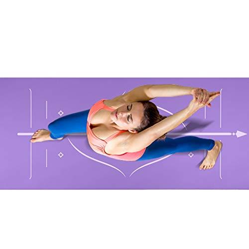 Estera de yoga Gimnasio Ejercicio estera Estera de ...