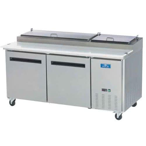 Refrigerated Pizza Table - 8