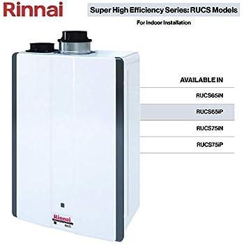 Rinnai Rucs65ip Tankless Water Heaters Rucs65ip Propane 6