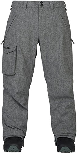 Burton Men's Covert Pant, Bog Heather, X-Large