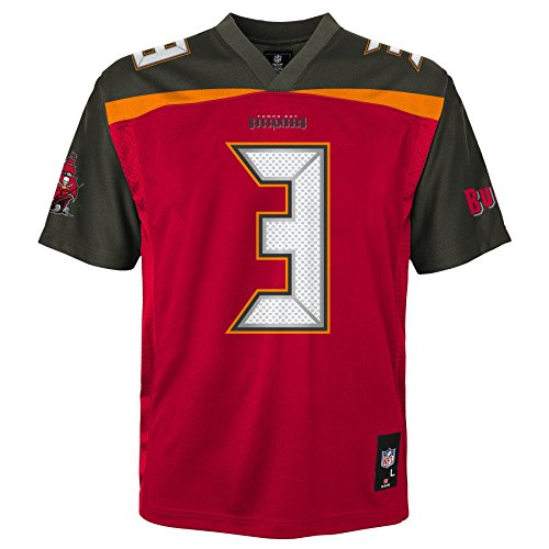 - NFL Youth Boys 8-20 Jameis Winston Tampa Bay Buccaneers Boys -Player Name Jersey, Red, S(8)