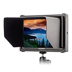 """Lilliput Q7 7"""" Full HD Camera Monitor with SDI and HDMI Cross Conversion Metal Housing High Resolution for Camcorder DSLR"""