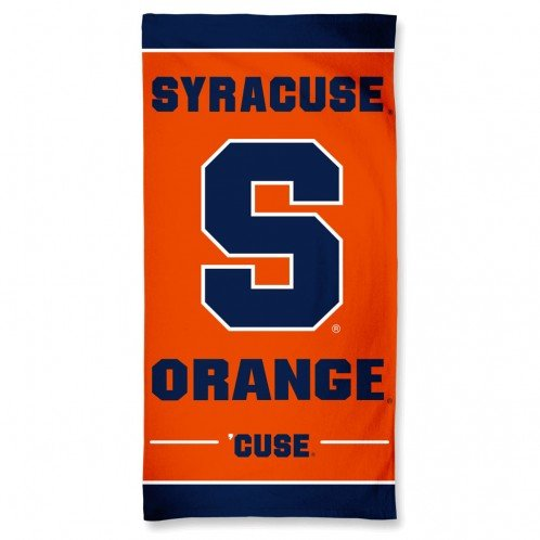 Syracuse Orangemen 30'' x 60''Beach Towel