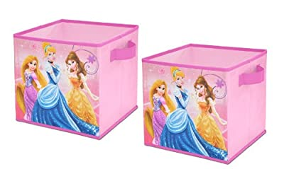 Disney Storage Cubes, Set of 2, 10-Inch