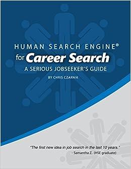 Human Search Engine For Career Search A Serious Jobseeker S Guide Chris Czarnik 9780692351482 Amazon Com Books