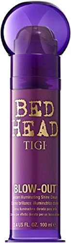 TIGI Bed Head Blow-Out Golden Illuminating Shine Cream, 3.4 oz (Pack of 2)