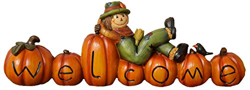 Your Hearts Delight Pumpkin Scarecrow product image