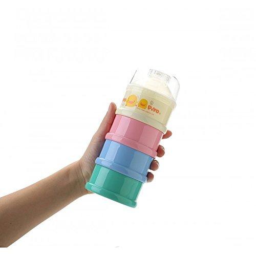 Piyo Piyo Colored Four Layer Milk Powder Dispenser 830007