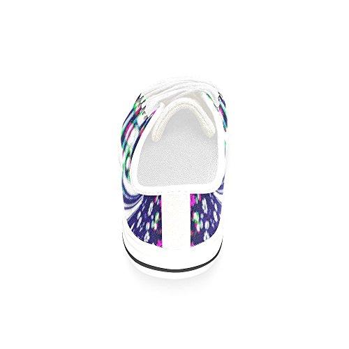 Artsadd Kleurrijke Bloemen Wereld Custom Canvas Schoenen Voor Vrouwen Model018 (2015 Nieuwe Collectie)