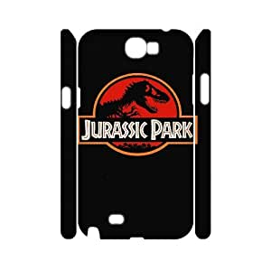 ANCASE Jurassic Park Phone 3D Case For Samsung Galaxy Note 2 N7100 [Pattern-4]