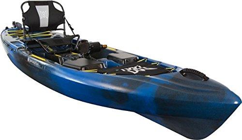 2017 Perception Pilot 12.0 Pedal Drive Kayak with Free Vamo Tie Down Straps