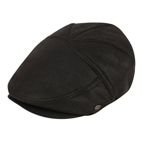 - Epoch Ultra Faux Suede New Shape Ivy Hat (L, IV2371BLACK)