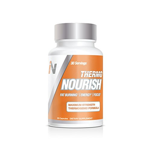 Thermo Nourish by Interval Nutrition - Safe Metabolism Boosting Weight Loss Supplement for Men & Women with Nootropics for Enhanced Focus - 30 Capsules (Pack of 1) by Interval Nutrition