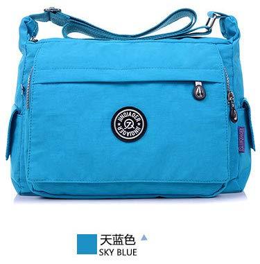 Amazon.com: Waterproof Nylon Bags Handbags Women Famous ...