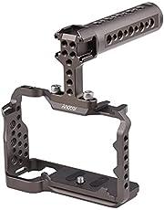 Funien Camerakooi + Top Handgreep Set Metalen Camerakooi Multifunctionele Top Handgreep Vervanging voor Sony A7C