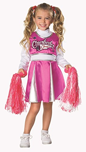 Rubie's Let's Pretend Child's Cheerleader Camp Costume, Small