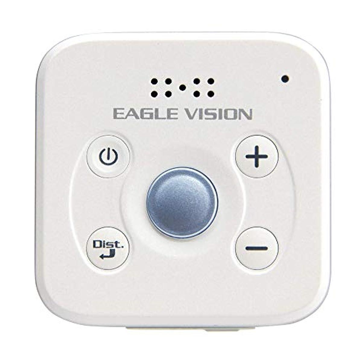 [해외] 아사히 골프 EAGLE VISION VOICE 3 GPS 음성 퍼터입 유니 EV-803 화이트
