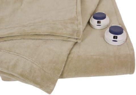 Serta | Luxe Plush Fleece Heated Electric Blanket