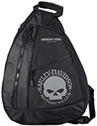 Harley-Davidson Skull Sling Backpack BP1957S-GRYBLK
