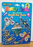 Make Your Own Beadie Key Chains Party Pack(4)