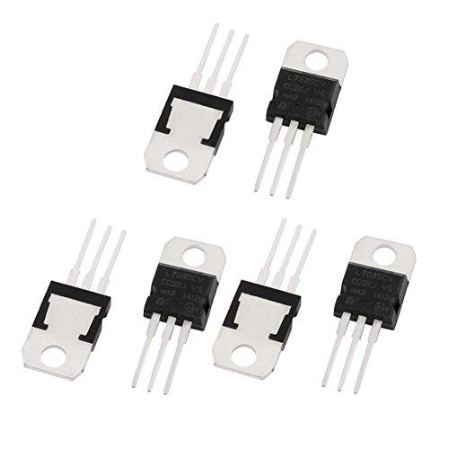 7805 voltage regulator - 5